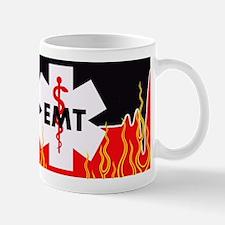 EMT Red Heartbeat Mugs