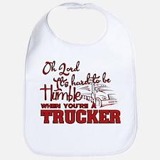 Humble Truck Driver Bib