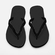 Carbon Fiber look Flip Flops
