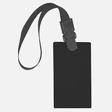 Carbon Fiber look Luggage Tag