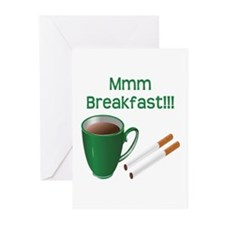 Coffee and Cigarettes Greeting Cards (Pk of 10