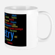 Poetry Decal Large Mug
