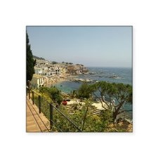 "Cute Costa brava Square Sticker 3"" x 3"""