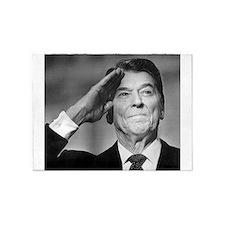 Ronald Reagan Salutes 5'x7'Area Rug