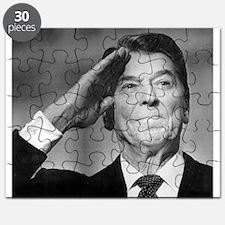 Ronald Reagan Salutes Puzzle