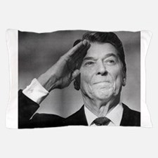 Ronald Reagan Salutes Pillow Case