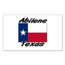 Abilene Texas Rectangle Decal
