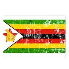 Vintage Zimbabwe Postcards (Package of 8)