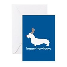 Cute Doxie christmas Greeting Cards (Pk of 20)