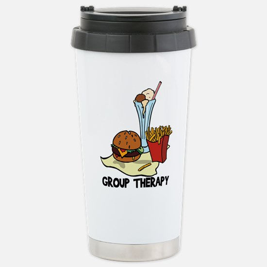 Food Group Therapy Stainless Steel Travel Mug