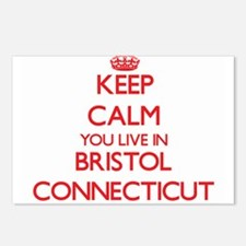 Keep calm you live in Bri Postcards (Package of 8)