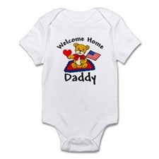 Welcome Home Daddy Army Infant Bodysuit