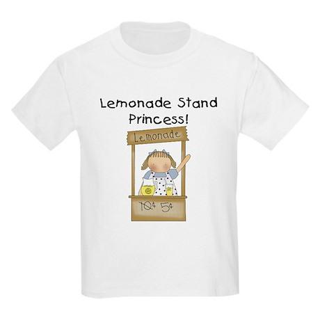 Lemonade Stand Princess Kids Light T-Shirt
