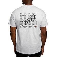 Puerto Rico Outline 787 Coqui T-Shirt