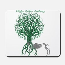 Green Celtic Tree of Life Mousepad