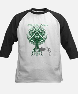 Green Celtic Tree of Life Baseball Jersey