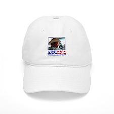 George W Bush - America Needs a Cowboy Baseball Cap