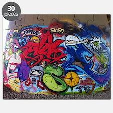 Graffiti Mural Puzzle