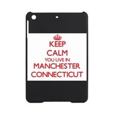 Keep calm you live in Manchester Co iPad Mini Case