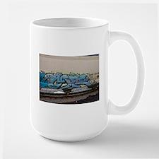 Blue hopper graf Mugs
