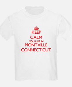 Keep calm you live in Montville Connecticu T-Shirt
