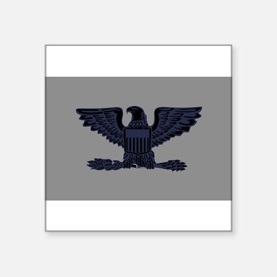 """Cute Military rank colonel Square Sticker 3"""" x 3"""""""