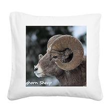 Bighorn Sheep Square Canvas Pillow