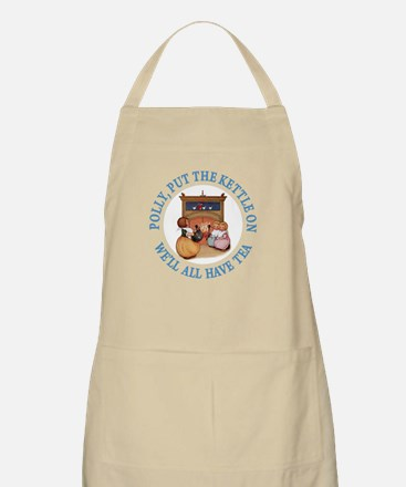 POLLY PUT THE KETTLE ON Apron
