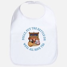 POLLY PUT THE KETTLE ON Bib