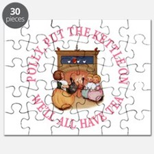 POLLY PUT THE KETTLE ON Puzzle