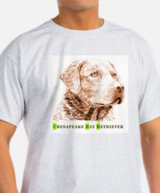 Cute Chesapeake bay retriever cartoon T-Shirt