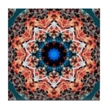 CORAL REEF COLORS Tile Coaster