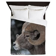 Big horn Sheep Queen Duvet