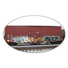 tag boxcar Decal