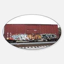 tag boxcar Decal
