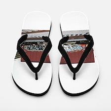 tag boxcar Flip Flops