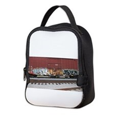 tag boxcar Neoprene Lunch Bag