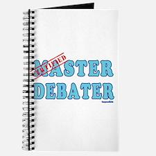 Master Debater Journal