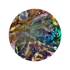 """Colorful Cosmos 3.5"""" Button"""
