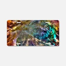Colorful Cosmos Aluminum License Plate