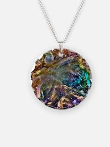 Colorful Cosmos Necklace
