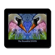 The beautiful SWAN Mousepad