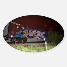 Boxcar vandal Decal