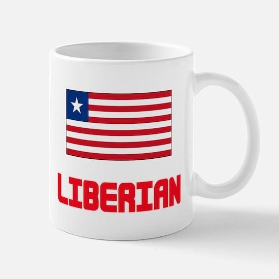 Liberian Flag Design Mugs