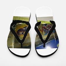Unique Create a comic Flip Flops