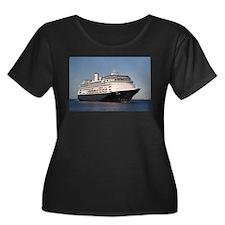 Cruise ship 7 Plus Size T-Shirt