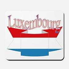 Luxembourg ribbon Mousepad
