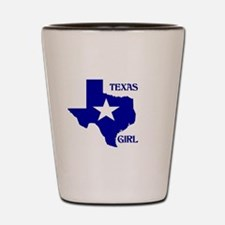 Cute Texas girl Shot Glass