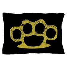 Brass Knuckles Pillow Case