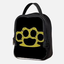 Brass Knuckles Neoprene Lunch Bag